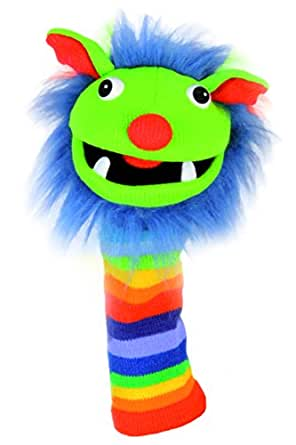 Knitted Puppet Rainbow Puppet