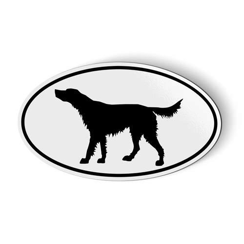 Irish Setter Oval - Magnet for Car Fridge Locker - 3