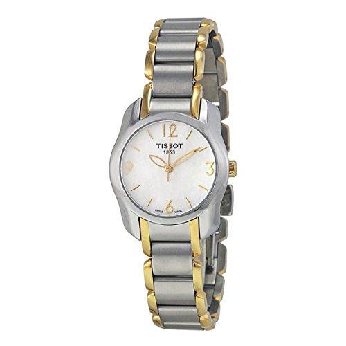 (Tissot T-Wave Two-Tone Women's watch #T023.210.22.117.00)