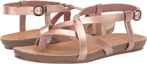 (Blowfish Kids Girl's Granola-B-K (Little Kid/Big Kid) Pearl Rose Gold Dyecut Pu 3 M US Little Kid)