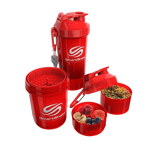 SmartShake ORIGINAL2GO 600ML - RED