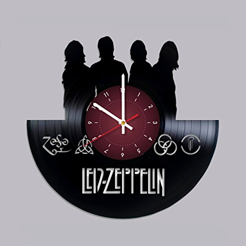 LED ZEPPELIN Vinyl Record Wall Clock Rock Music Band decor u