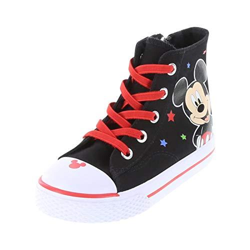 Mickey Mouse Black Boys' Toddler Mickey Legacee High-Top 7 Regular ()