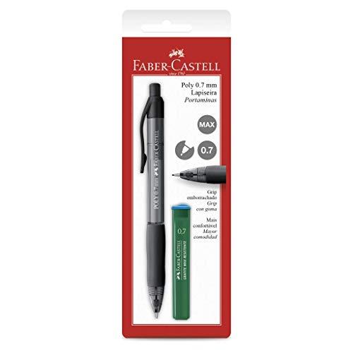 Lapiseira Poly 0.7mm, Faber-Castell, SM/07POLYP, Preta
