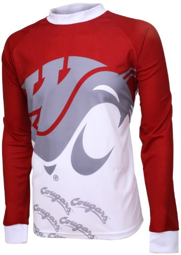 NCAA WSU - Washington State Cougars Mountain Bike Cycling Jersey