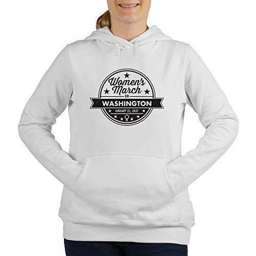 (CafePress March On Washington Women's Hooded Sweatshirt White)