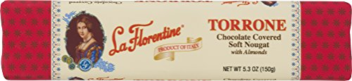 Soft Almond (La Florentine Dark Chocolate Covered Soft Nougat with Almonds, 5.3 ounce)