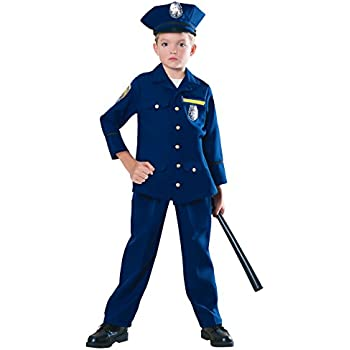 Young Heroes Child Police Officer Costume Small  sc 1 st  Amazon.com & Young Heroes Child Police Officer Costume Small