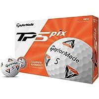 TaylorMade TP5 Pix 2.0 Golf Ball, Dozen