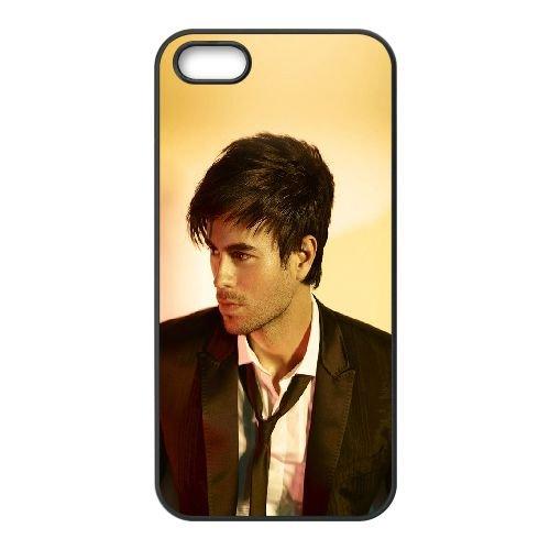 Enrique Iglesias UP70MN4 coque iPhone 5 5s téléphone cellulaire cas coque C9WP7Y7BE