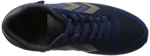 Hummel HUMMEL REFLEX LO - zapatilla deportiva de material sintético Unisex adulto azul - azul (Dress Blue 7459)