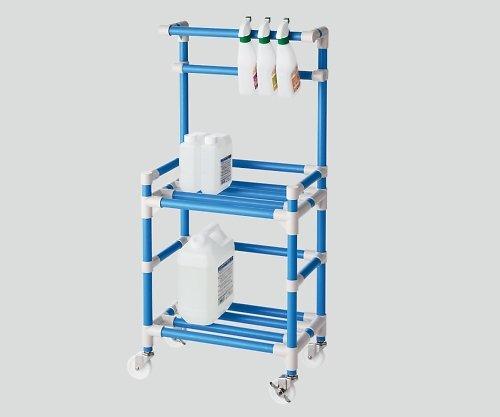 ナビス(アズワン)8-6548-02クリーナーカート(抗菌防カビイレクター(R))ブルー B07BD2SWGJ