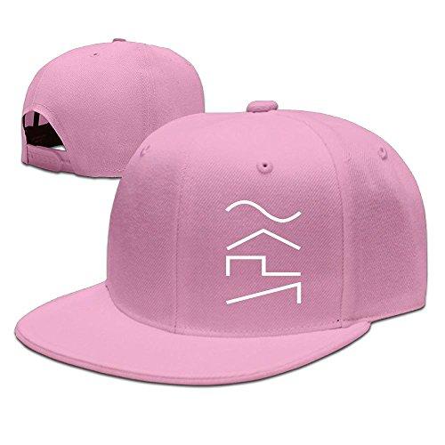 ZhiqianDF Men SYNTH WAVES Cool Jogging Pink Cap Adjustable - Florida Keys Outlet Center