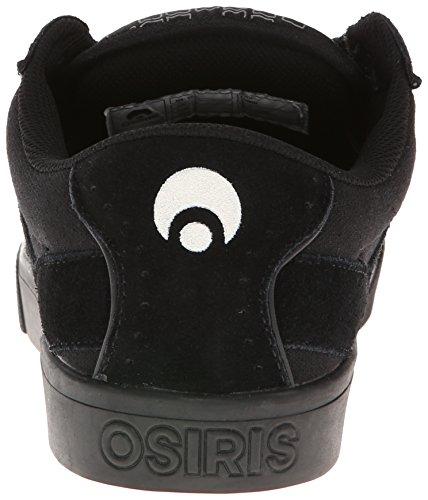 Osiris Mens Lumin Skatesko Svart / Svart / Svart