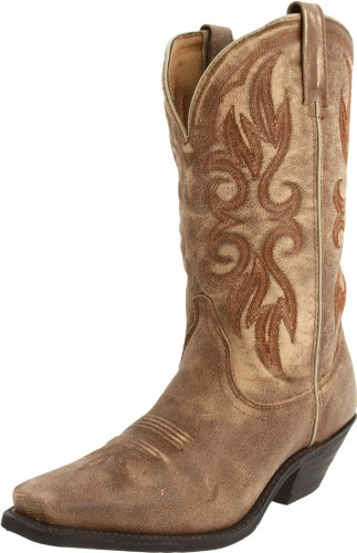 Laredo Maricopa Ladies Camel Leather Boots 6.5 M