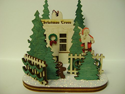 Cottage Tree - Ginger Cottages - Christmas Tree Lot GC130