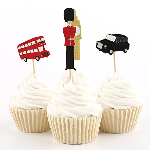 Cupcake Toppers Picks Various Themes product image