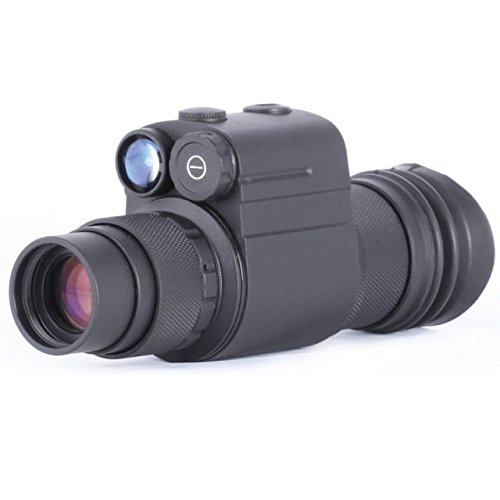 Night Optics USA Ambia 1X Gen 2+ Night Vision Monocular NM-300-2S Night Vision Scopes