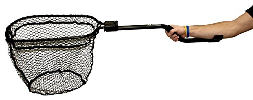 Yak Attack Leverage Landing Net, 12'' X 20'' hoop, 47'' long by Leverage Landing