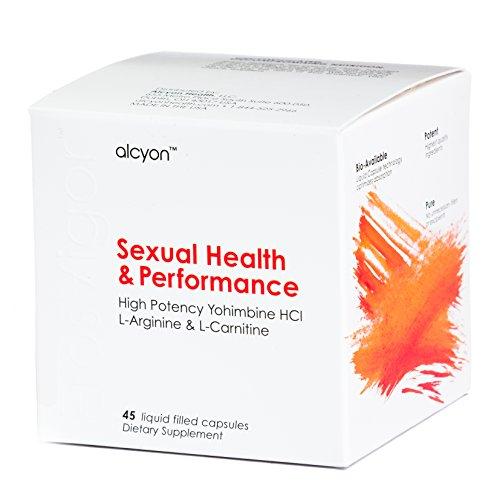 ErosVigor™ - LiquidCap Sexual Enhancement & Performance Supplement for Men & Women | High Potency Yohimbine HCl 5 mg, L-Arginine 250 mg & L-Carnitine 430 mg | Libido Booster & Sex Drive for Couples