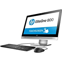 HP EliteOne Y2P40UT#ABA 23 All-in-One Desktop(Black/Silver)