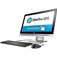 HP EliteOne Y2P40UT#ABA 23 All-in-One Desktop(Black/Silver)