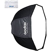 Godox 120cm / 47in Octagon Softbox Umbrella Softbox with Carrying Bag for Studio Flash Speedlite, Zipper Design