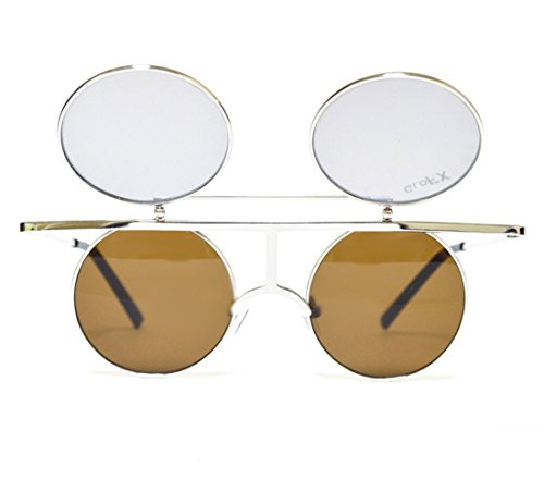 GloFX Flip Diffraction Glasses – Vintage Round