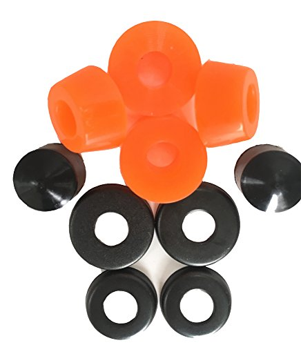 DreamFire 90a Skateboard Bushings Skateboard Truck Longboard Pennyboard Cruiser Orange