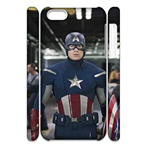 HXYHTY Customized 3D case Avengers Marvel for iPhone 5C