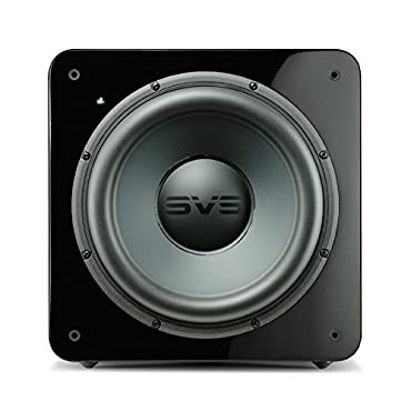 SVS SB-2000 12, 500-watt DSP Controlled, Sealed Box Subwoofer Piano Black Gloss