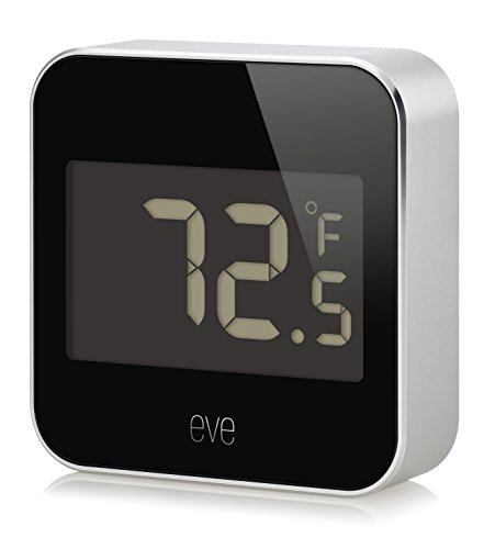 Elgato Eve Degree  Temperature   Humidity Monitor With Apple Homekit Technology  Bluetooth Low Energy