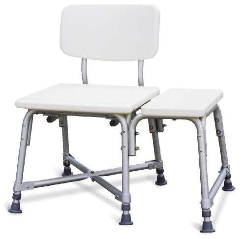 Medline Bariatric Plastic Transfer - Bath Benches Aluminum Medline