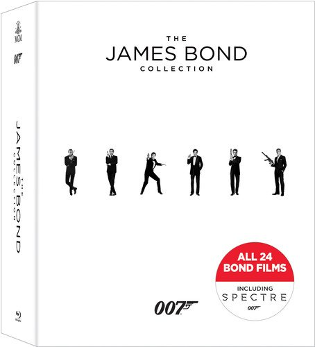 James Bond Collection, The Blu-ray by Mgm (Lasers)