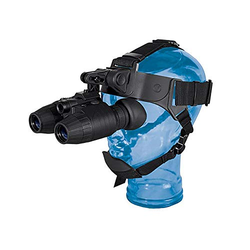 FGKING Helmet Type Monocular Night Vision, Infrared Binocular Night Vision Device, Digital Night Vision Telescope for Hunting Digital Night Vision Telescope