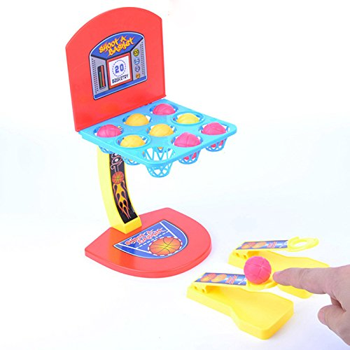MyMei 家族 面白い ボードゲーム ミニバスケットボール シュートゲーム フィンガープレイ 子供 おもちゃ 贈り物