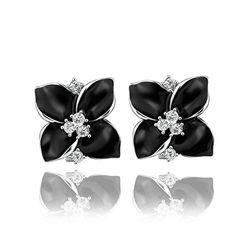 Western Style Earrings Flower Stud Earrings Fashion Ladies Stud Earrings