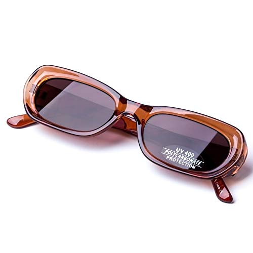 Creative Rectangle Frame Sunglasses for Women 100% UV protection ()