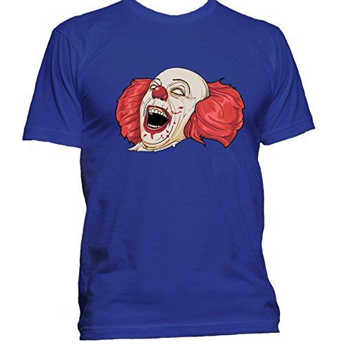 Evil Clown Halloween T Shirt Medium - Nerd Coustume