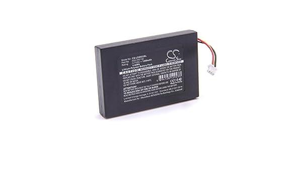 vhbw Litio polímero batería 1200mAh (3.7V) para Auriculares inalámbricos Cascos Logitech G533, G933: Amazon.es: Electrónica