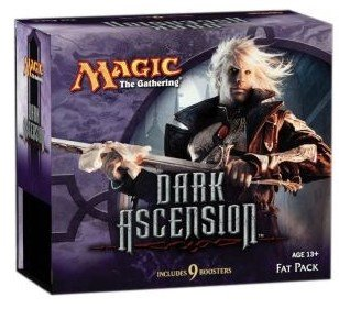 Magic the Gathering: MTG Dark Ascension DKA Sealed Fat Pack by Wizards of the Coast