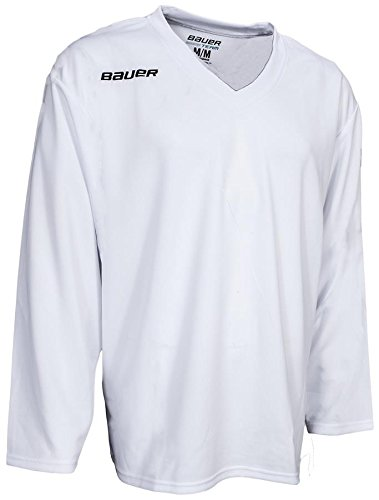 Bauer 200 Practice Hockey Jersey - Senior - X-Large - White  Amazon.ca   Clothing   Accessories aaf6533a8b2