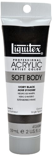 Liquitex Professional Soft Body Acrylic Paint 2-oz tube, Ivo