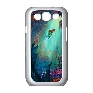 Samsung Galaxy S3 9300 Cell Phone Case White Disney the little mermaid Ariel JSK816276