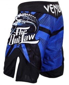 "Venum Dan Hardy ""The Outlaw"" Fight Shorts - Blue"