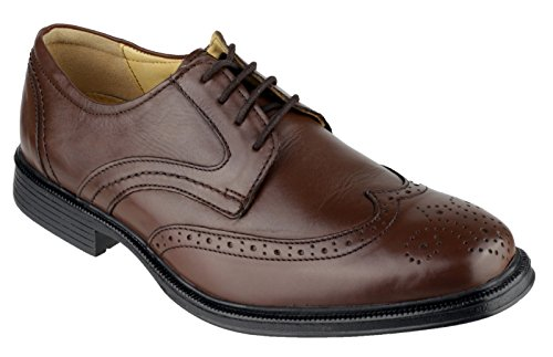 Brown Lace Cotswold Premium Oxford Cotswold Leather Mickleton Leather Shoe Up Brown Mens zg7qH
