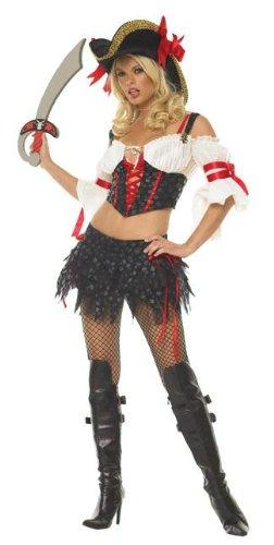 Marauder Pirate Costume - Marauder Pirate Adult Costume - Medium