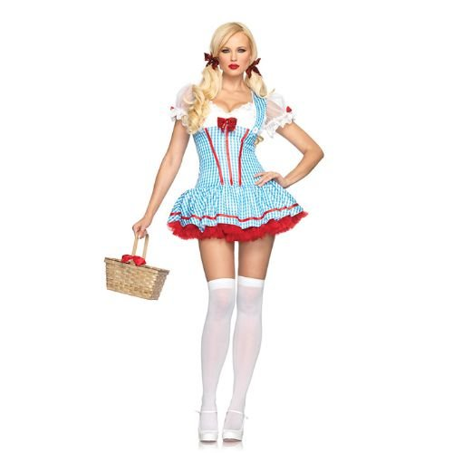 Wizard of Oz -Gingham Diva Dorothy Costume - X-Small ()