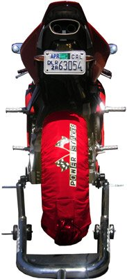 PSR 2 POWERSTANDS TIRE WARMERS RED