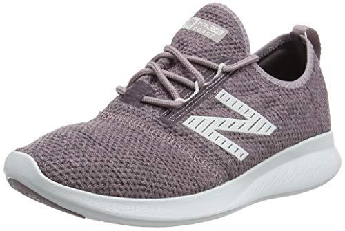 New Balance Women's Coast V4 FuelCore Running Shoe, Cashmere/Light Shale/Nimbus Cloud, 6 W US